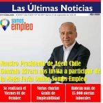 Nuestro Presidente Agest Gonzalo Rivera es entrevistado en Las Últimas Noticias por lanzamiento Feria Laboral Somos Empleo