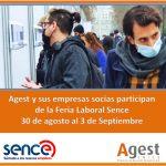 Agest y varias de sus empresas social participan de la Feria Laboral Sence 30 Agosto al 3 de Septiembre